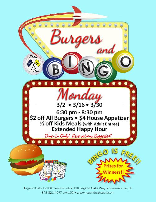 Bingo Burgers March
