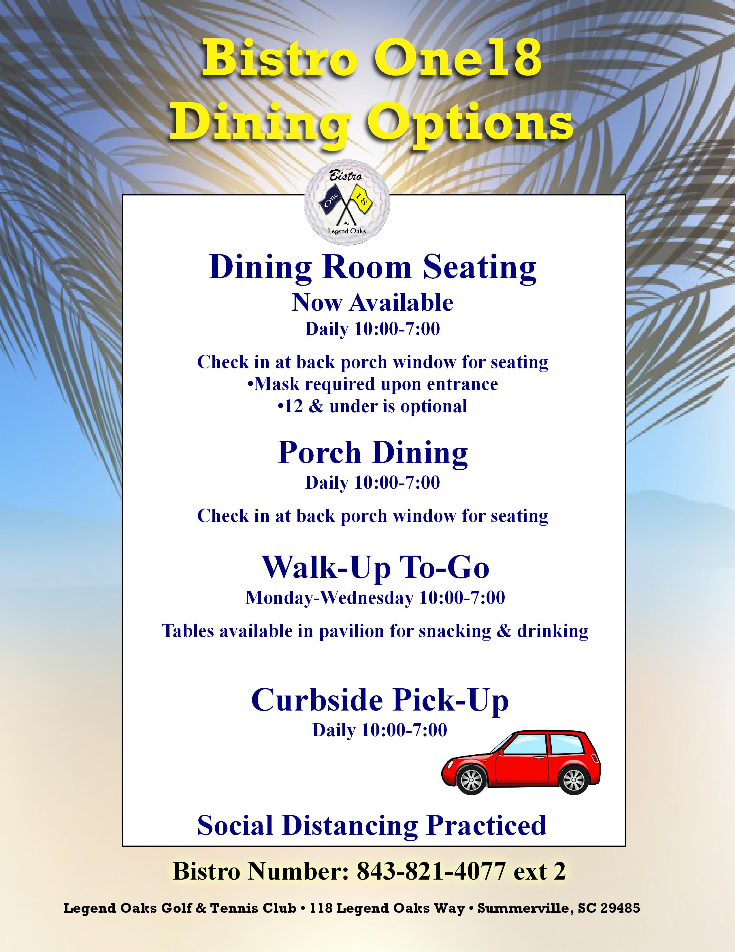 Dining Options2020 1