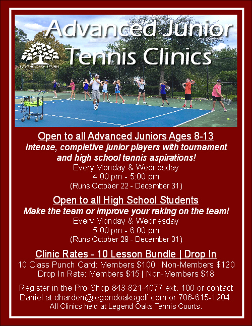 Oct 2018 Advance Afterschool Clinics