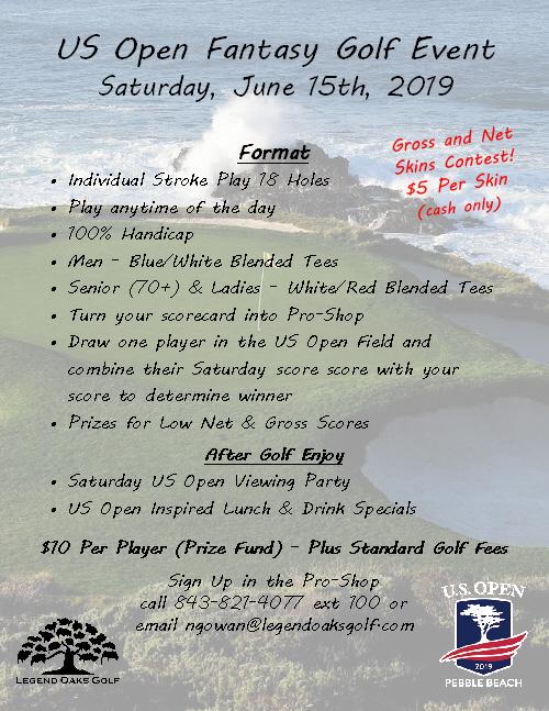 US Open Golf EventR2019