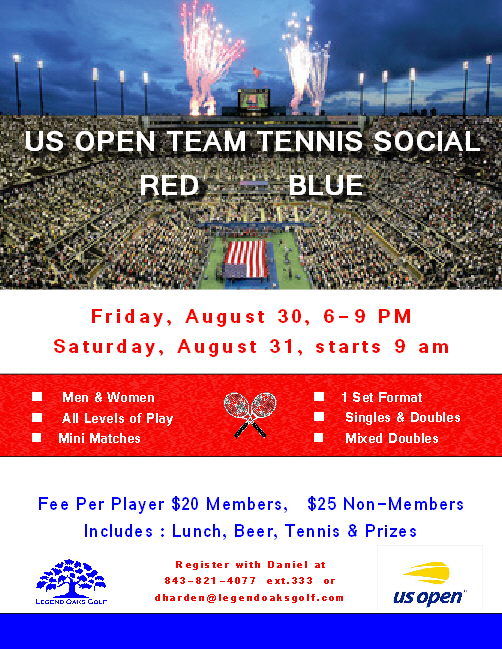 US Open Tennis Social Aug30 31