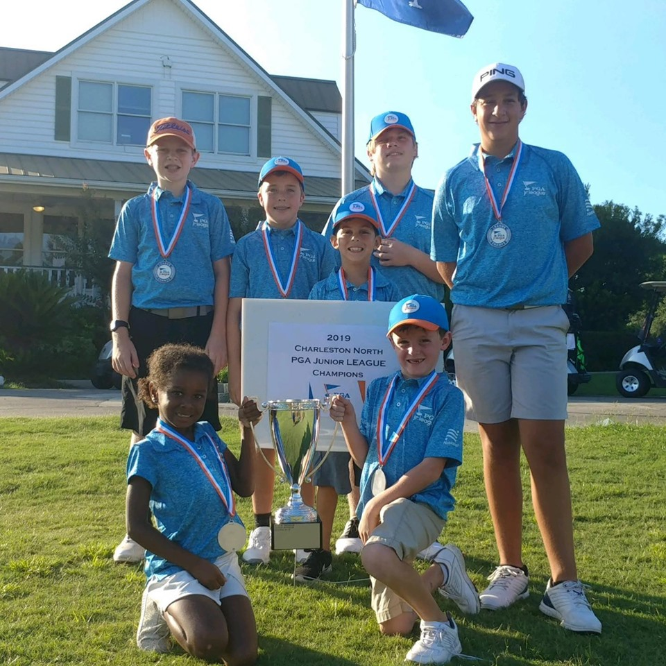 2019 PGA Jr League Champions trophy medeals