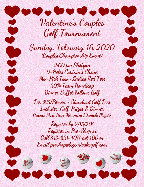 Valentines Couples Golf 2020