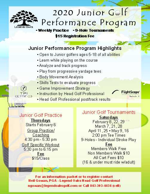 jr performance program 2020