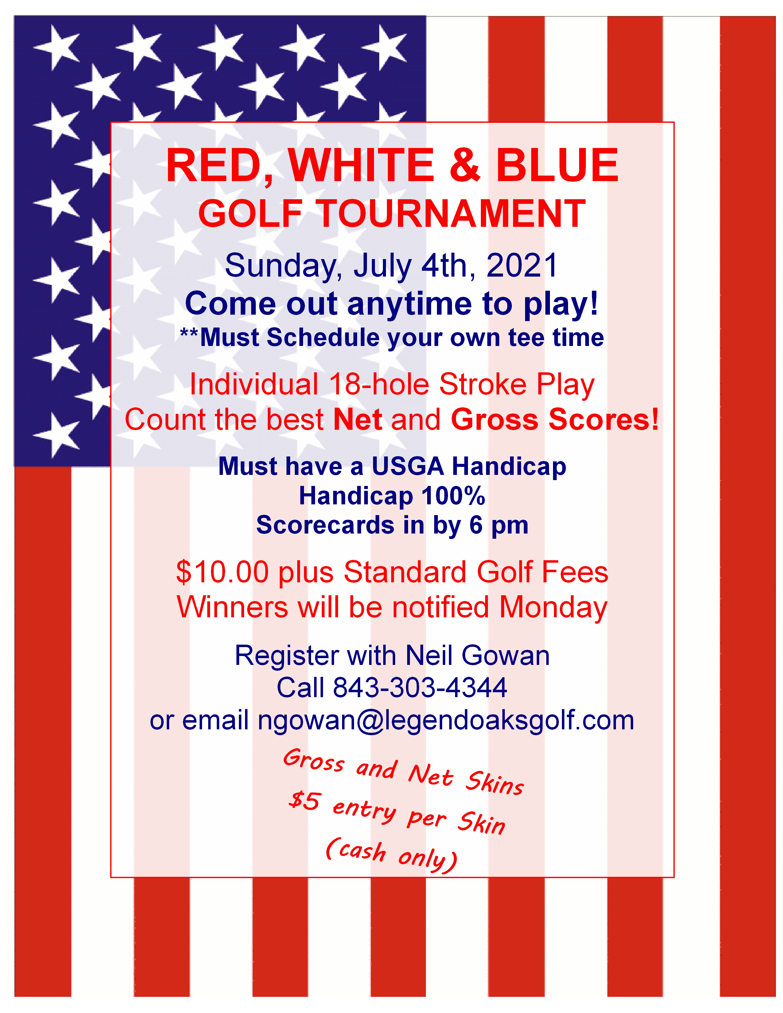 4th of July Tournament 2021