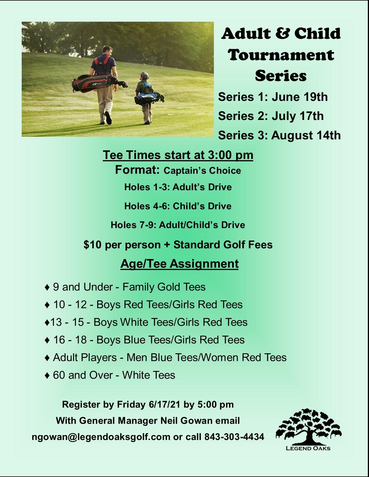 Adult Child Series Tournament