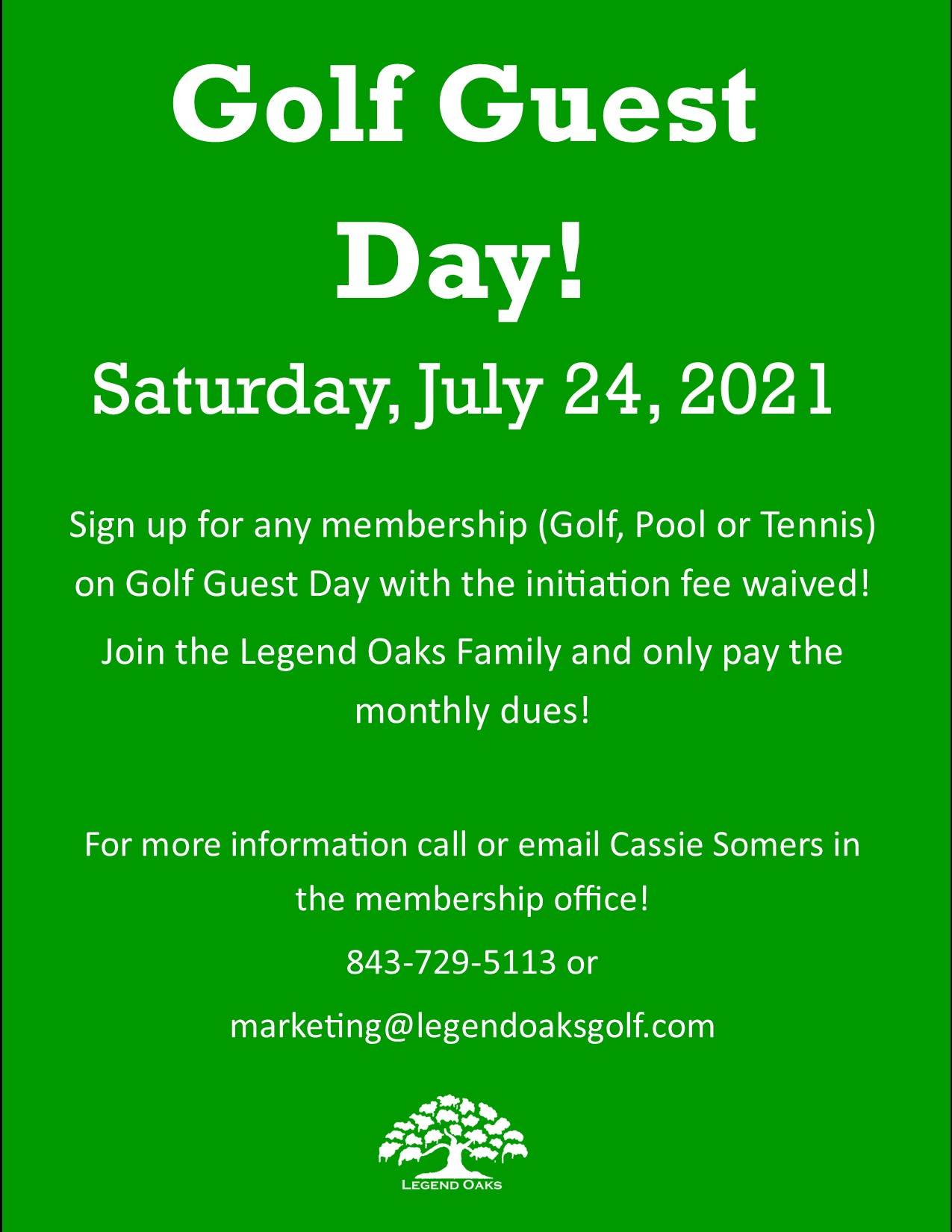 Golf Guest Day 7 24 21