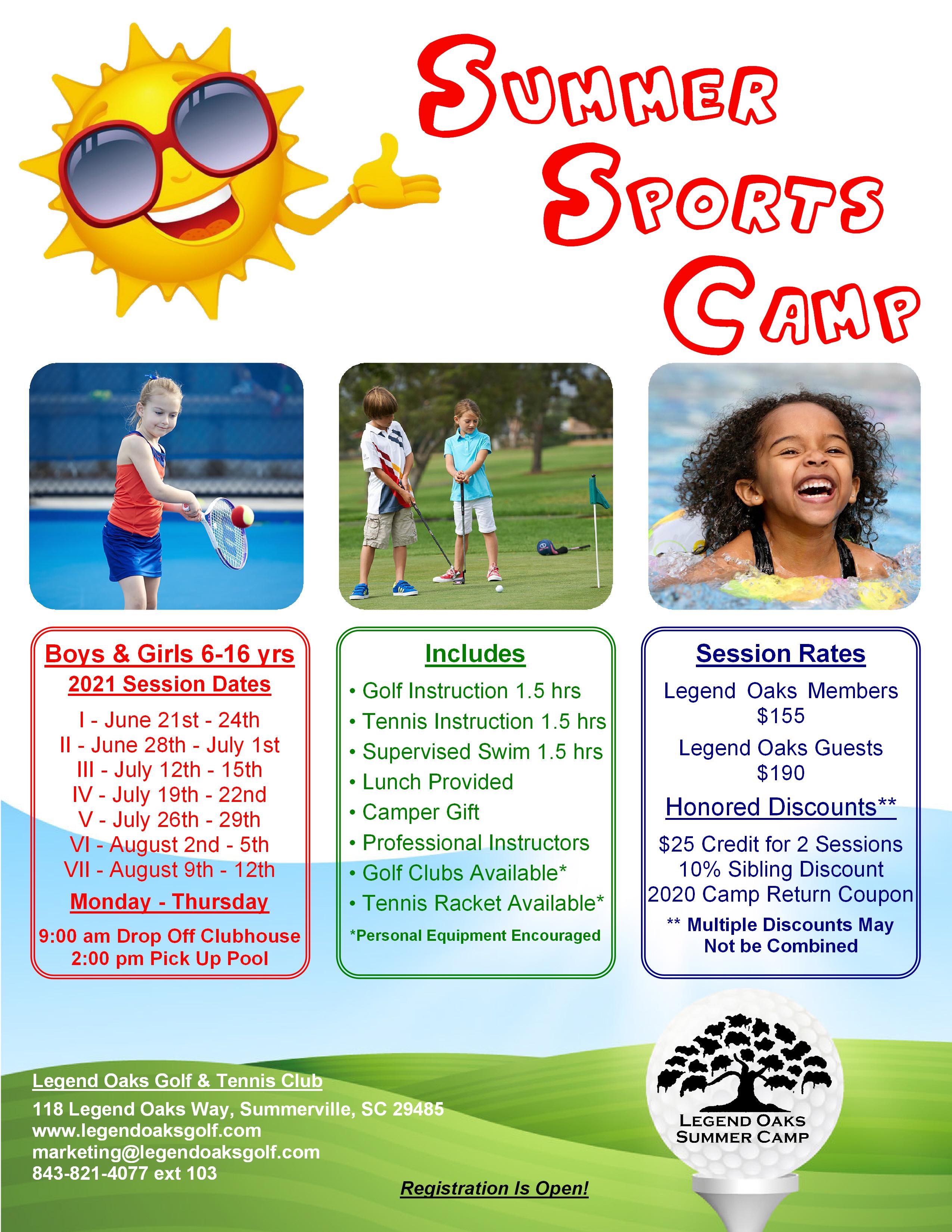 Summer Camp 2021 Info